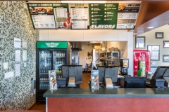 PKC Construction wingstop counter