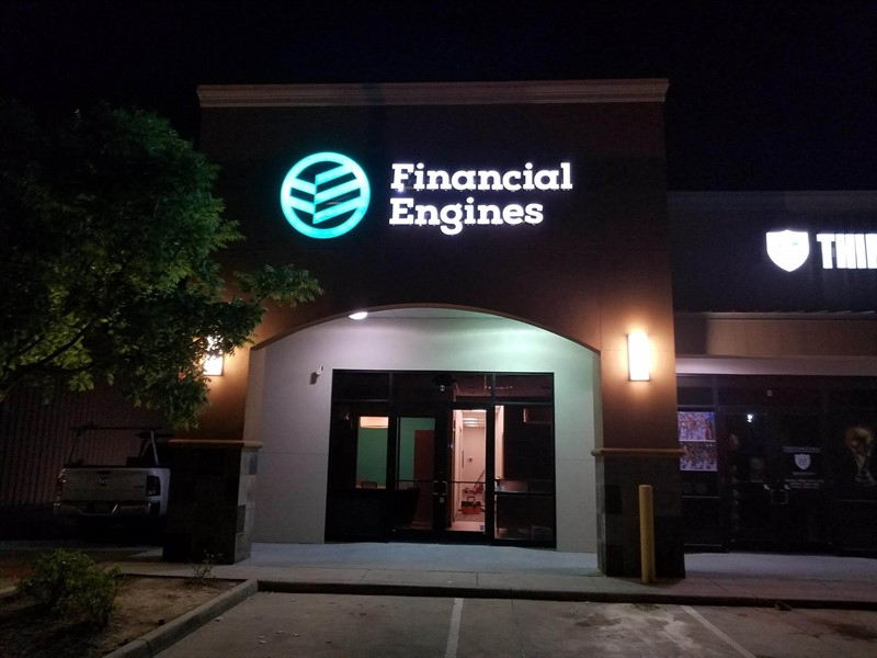 Financial engines exterior-PKC Construction
